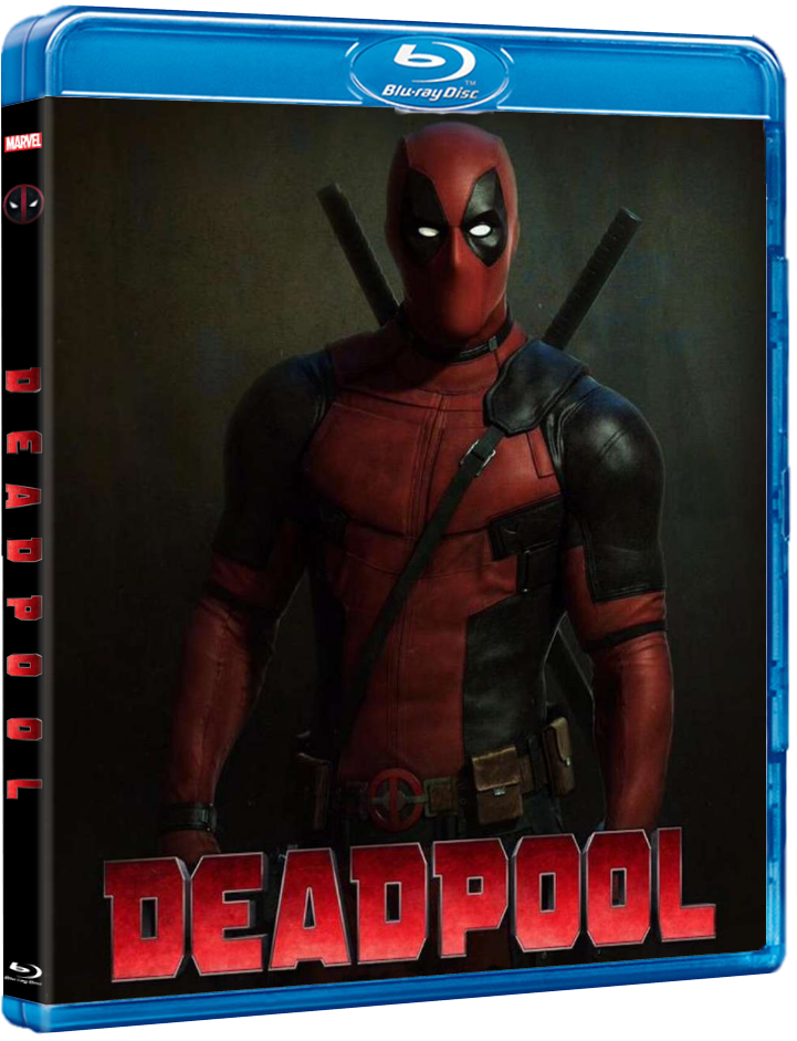 Deadpool movie review and blu-ray cover