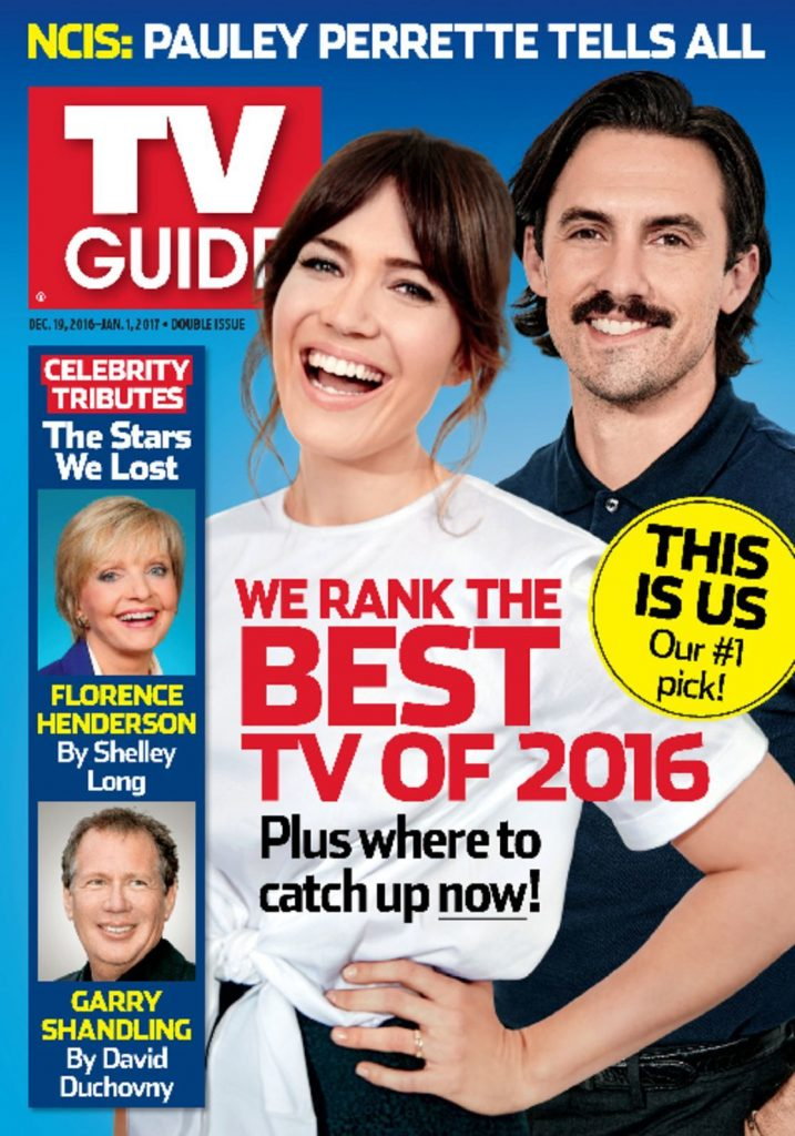 TV Guide Cover 2016